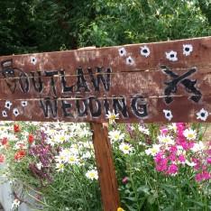 Wedding Sign at Brook Farm Cuffley