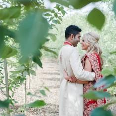 Katie & Chirag Wedding at Brook Farm Cuffley