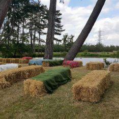 Straw Bales at Brook Farm Cuffley