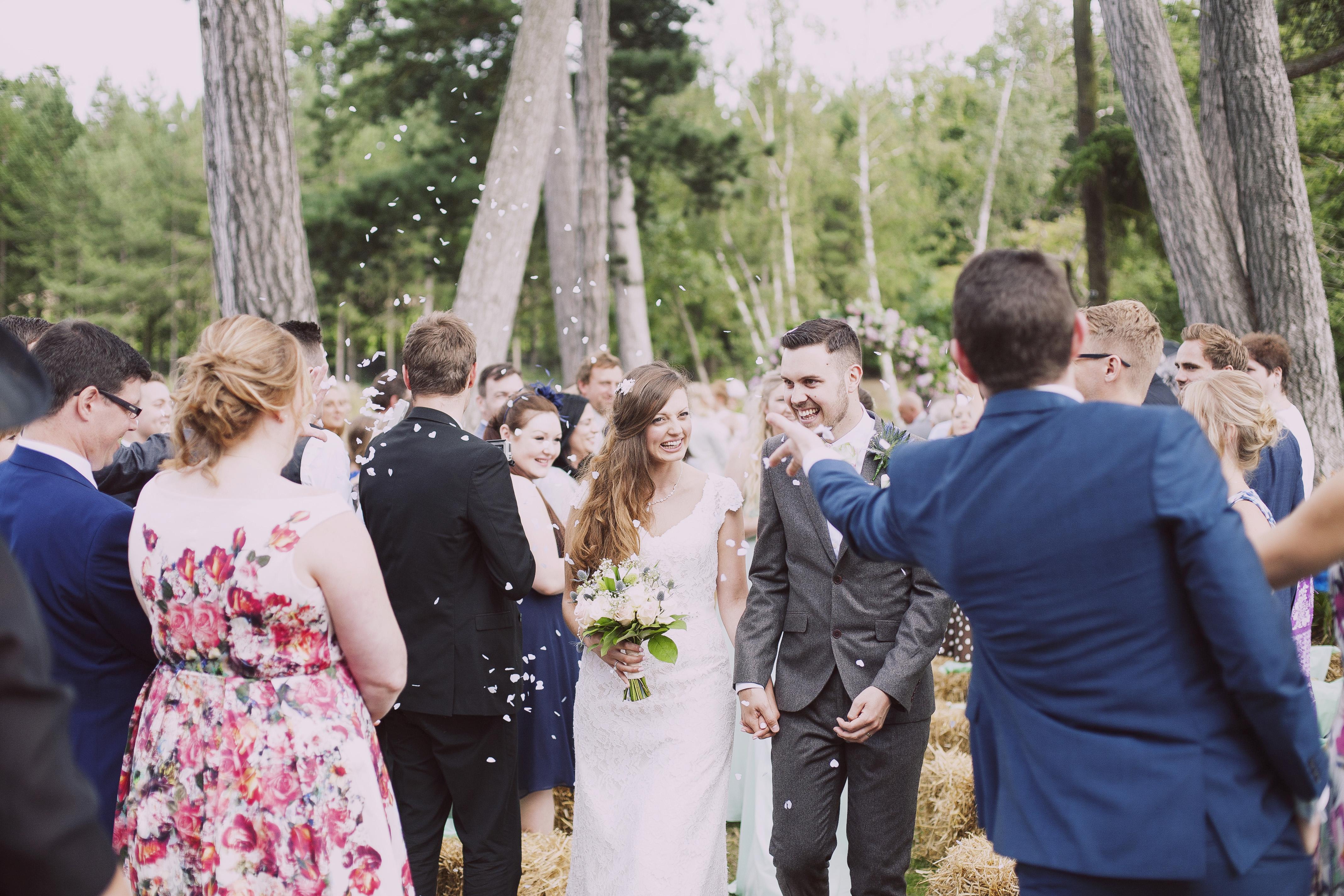 Confetti - Brook Farm Wedding Blessing