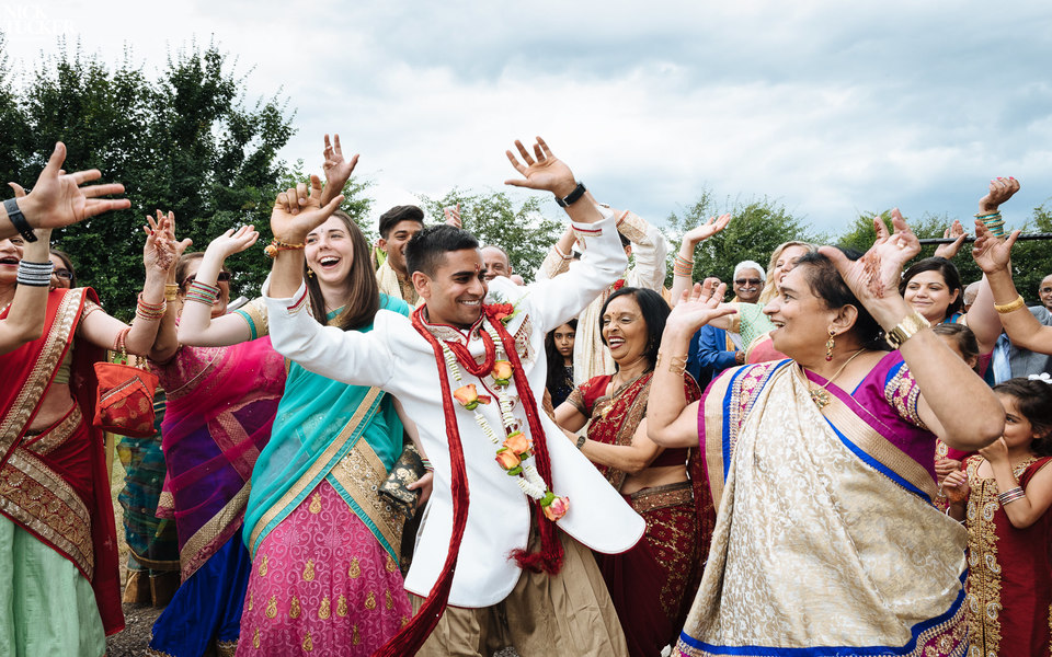 Anna & Bhav at Brook Farm Cuffley