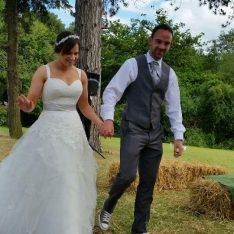 Adam & Cheryl at Brook Farm Cuffley