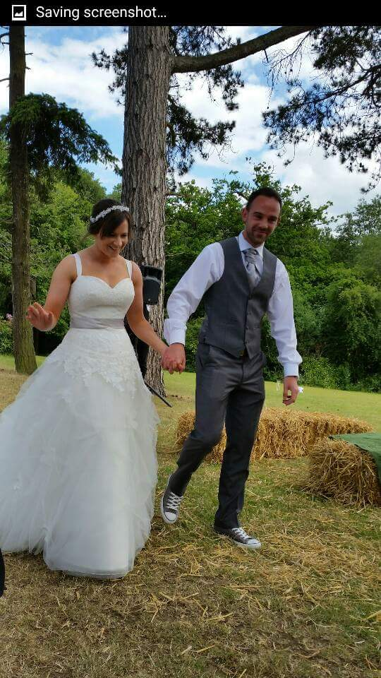 Adam & Cheryl at Brook Farm Cuffley