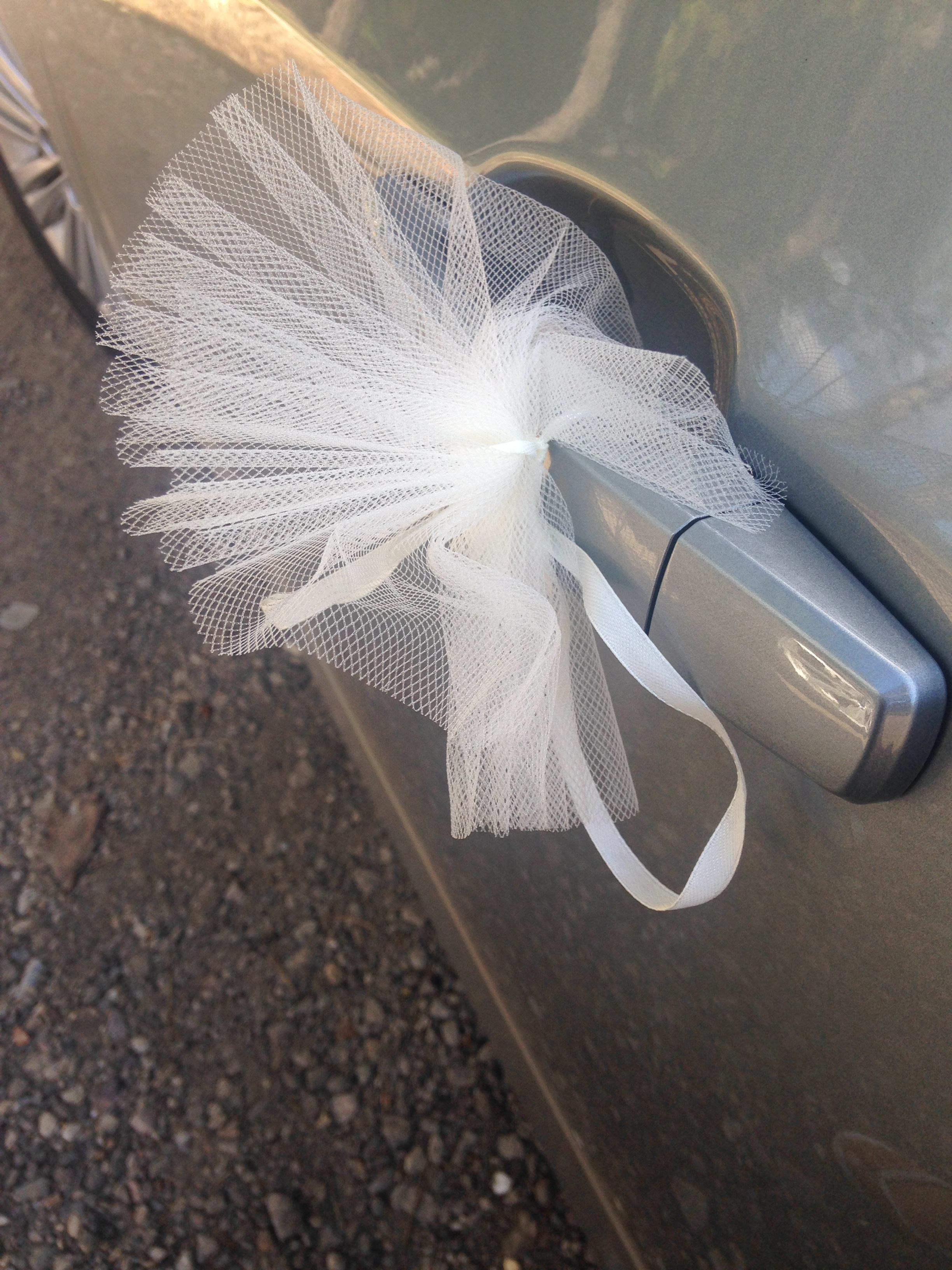Wedding Car Decs at Brook Farm Cuffley