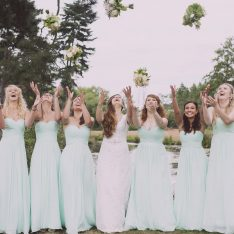 Bridesmaids - Brook Farm Wedding