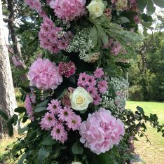 Flower Arch - Brook Farm Wedding