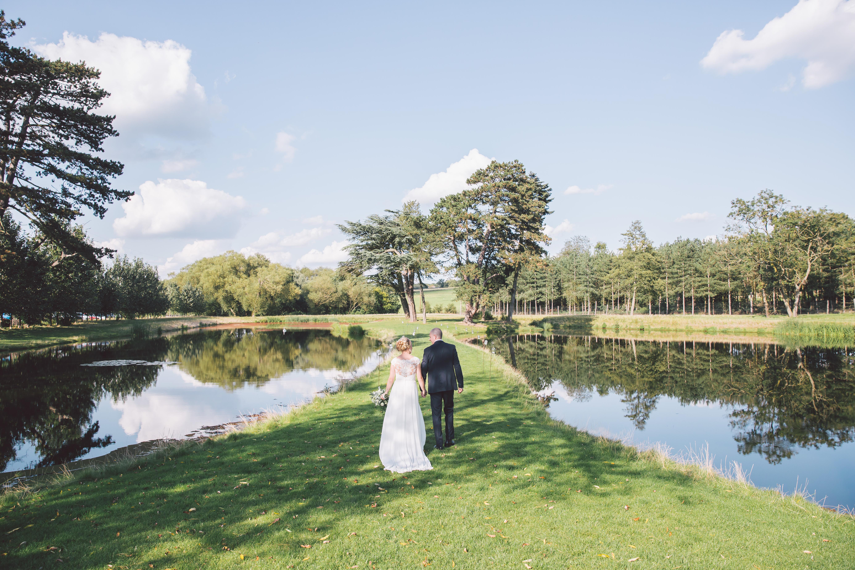 Lakeside Wedding at Brook Farm Cuffley