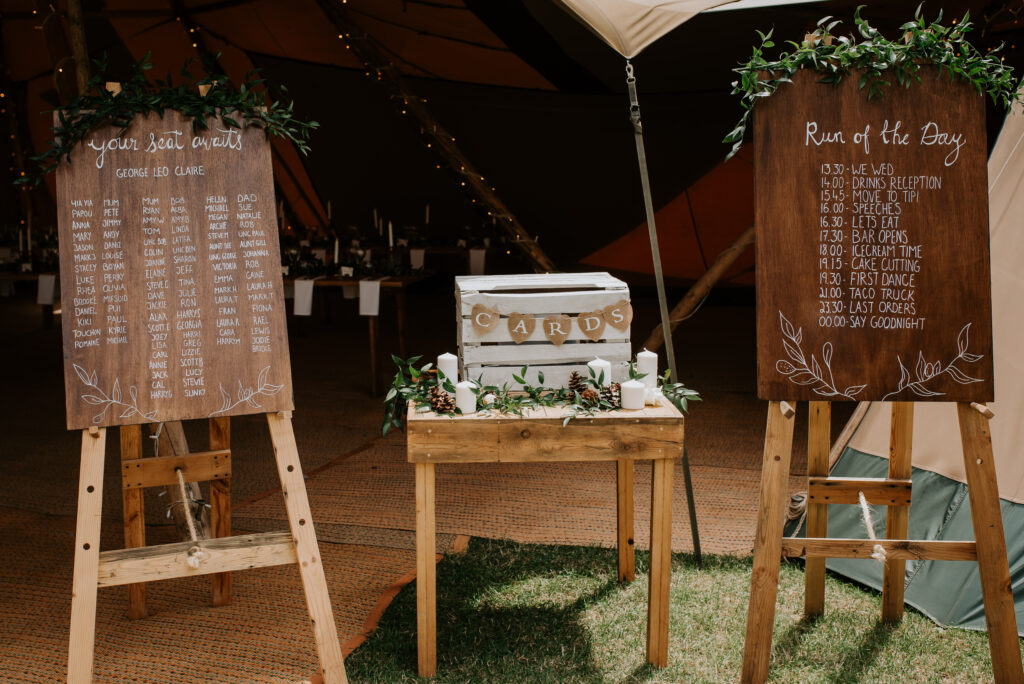Table Plan, Seating Plan, Brook Farm, Brook Farm Cuffley, Michelle Cordner Photography