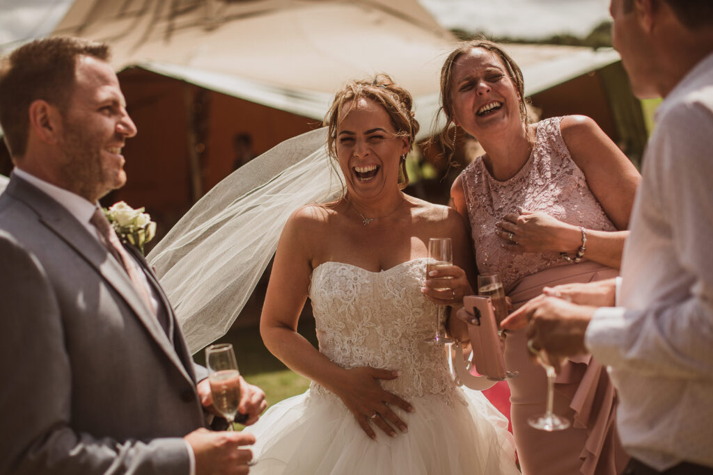 Brook Farm Cuffley Wedding