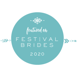 Featured on Festival Brides logo